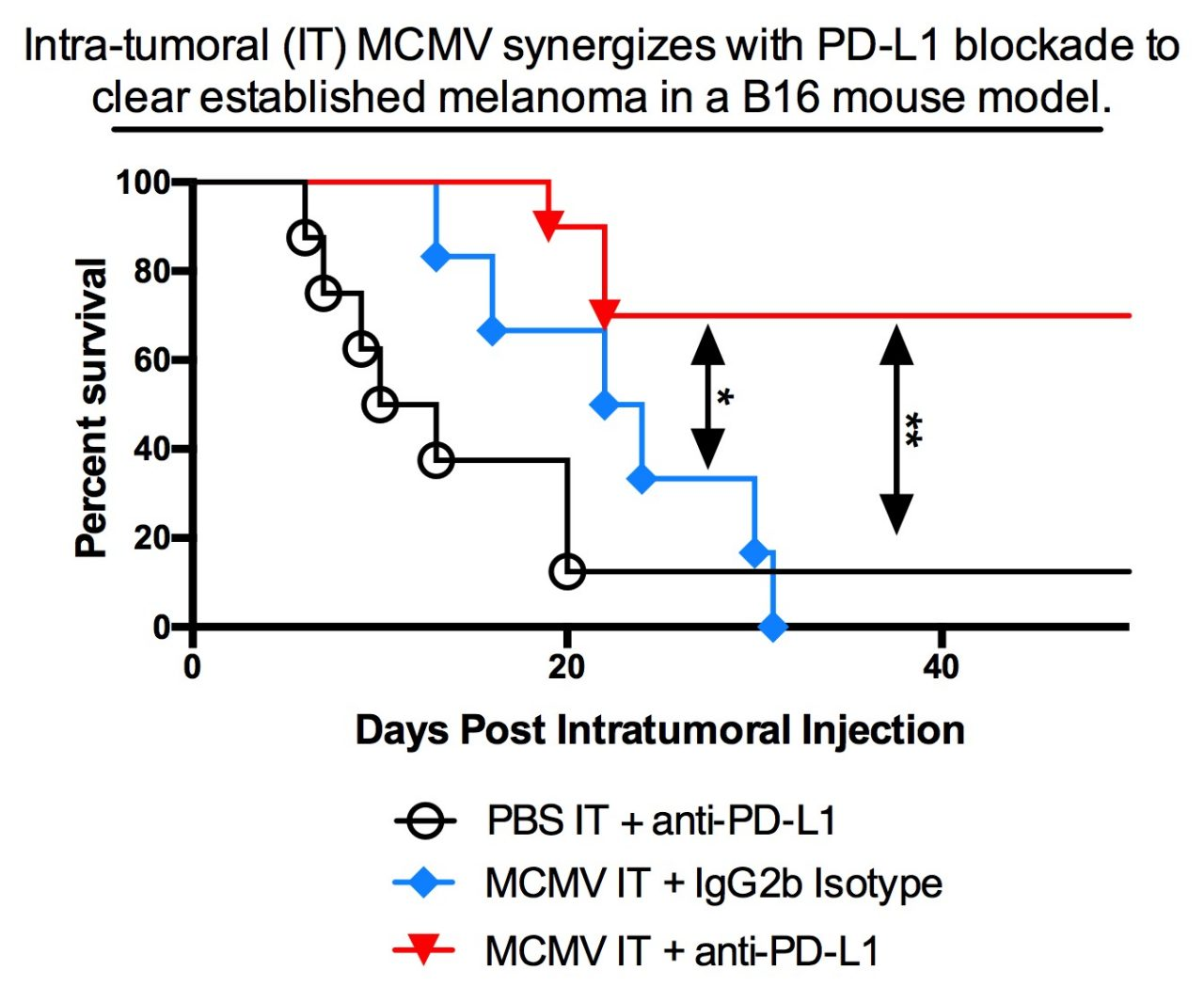 project2 - The use of cytomegalovirus to modify the tumor environment